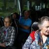 Im Bus nach Salzburg
