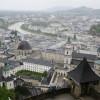 Salzburg von der Festung gesehen
