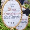 Grabtafel aus dem 18. Jh. mit spez. Frauennamen