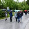 Regen, Regen ... jetzt geht es Untertag