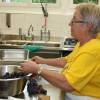 Rita Widmer und Helferinnen aus dem Frauenverein, verantwortlich für die Festküche