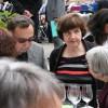 Zwei ehemalige Seelsorgehelferinnen Elvira Gilg und Petra Gubser treffen sich
