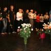 Marianne Henauer verabschiedet sich bei den Gästen und wünscht gute Heimkehr