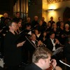 Der Chor singt Auszüge aus dem Gloria von Antonio Vivaldi