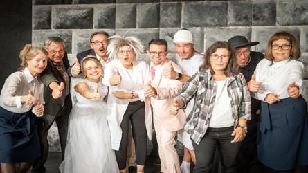 """Theater Nägelsee die Schauspieler im Stück """"Hirn!"""""""