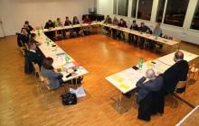 Kirchenpflegesitzung vom 18. Januar 2016 (Foto: Thomas Suter)